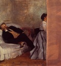 M  and Mme Edouard Manet circa 1868 1869 Kitakyushu Municipal Museum of Art Japan