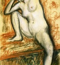 Nude Study of a Dancer 1902 PC