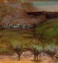 Olive Trees against a Mountainous Background circa 1890 1893 Norton Simon Museum USA