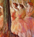 Pink Dancers circa 1895 1898 Museum of Fine Arts USA