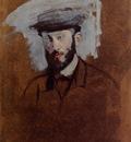 Portrait of Eugene Manet study 1875 PC