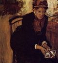 Portrait of Mary Cassatt circa 1880 1884 National Portrait Gallery UK England