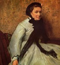 Portrait of a Lady in Grey circa 1865 Metropolitan Museum of Art USA