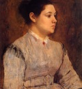 Portrait of a Young Woman 1864 1865 PC