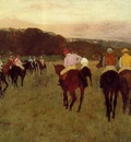 Racehorses at Longchamp 1871 Museum of Fine Arts USA