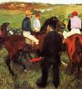 Racehorses at Longchamp 1873 1875 National Gallery of Art Washington USA