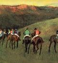 Racehorses in a Landscape 1894 Thyssen Bornemisza Museum Spain