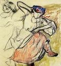 Russian Dancers circa 1899 Berwick Borough Museum England