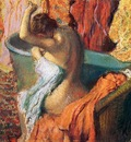 Seated Bather Drying Herself 1895 PC