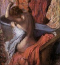 Seated Bather Drying Herself 1899 PC