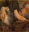 Study of Hands circa 1860 Musee d Orsay France