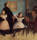The Bellelli Family circa 1858 1862 Ordrupgaard Collection Denmark