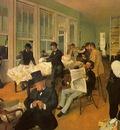 The Cotton Exchange in New Orleans 1873 Musee des Beaux Arts Pau France