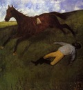 The Fallen Jockey also known as Fallen Jockey circa 1896 1898 Kunstmuseum Basel Switzerland