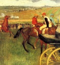 The Racecourse Amateur Jockeys 1876 1877 Musee d Orsay France