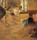 The Rehearsal 1873 1874 Glasgow Art Gallery and Museum Scotland