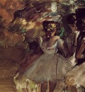 Three Dancers behind the Scenes 1880 1885 PC