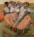 Three Russian Dancers circa 1899 Nationalmuseum Stockholm Sweden
