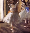 Two Dancers in the Studio also known as Dance School 1875 PC