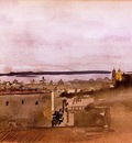 View of Naples 1860 Biblioteque Nationale de France