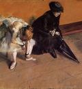 Waiting circa 1882 J  Paul Getty Museum USA