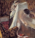 Woman Leaving Her Bath 1876 1877 Musee d Orsay France