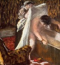 Woman Leaving Her Bath 1877 Musee du Louvre France