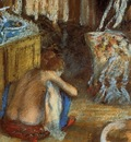 Woman Squatting circa 1879 Musee d Orsay France
