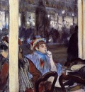 Women on a Cafe Terrace in the Evening 1877 Musee d Orsay France