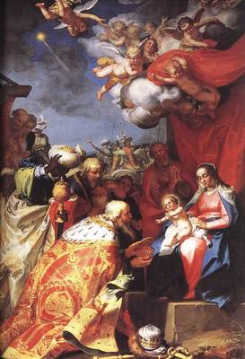 BLOEMAERT Abraham Adoration OF The Magi