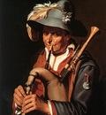 BLOEMAERT Abraham The Bagpiper