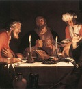 BLOEMAERT Abraham The Emmaus Disciples