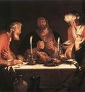 BLOEMAERT Abraham The Emmaus Disciples