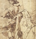 BLOEMAERT Abraham Warrior And Young Standard Bearer