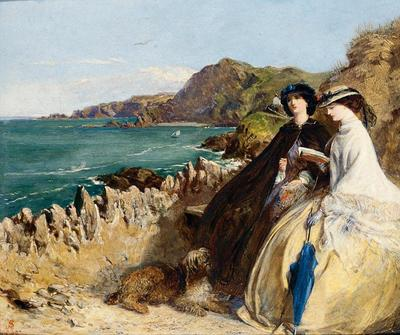 Solomon Abraham By the Seaside