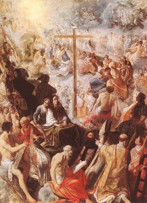 ELSHEIMER Adam Glorification Of The Cross