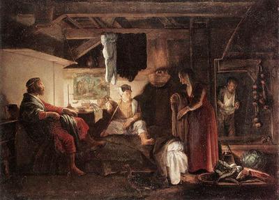 ELSHEIMER Adam Jupiter And Mercury At Philemon And Baucis