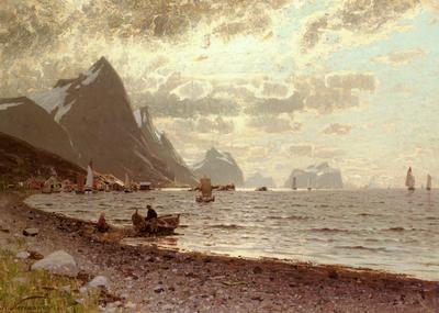 Normann Adelsteen A Norwegian Fjord