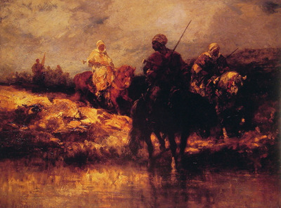 Arabs on Horseback