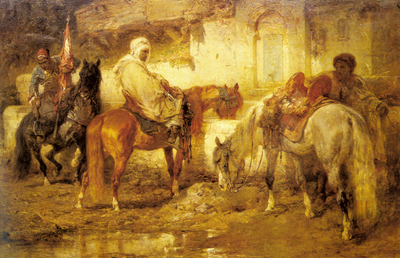 Schreyer Adolf At The Watering Place