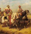 Schreyer Adolf Arab Chieftain And His Entourage