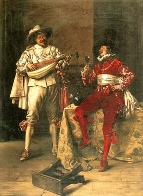 Lesrel Adolphe Alexandre Gentlemens Pleasures