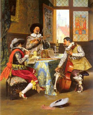 Lesrel Adolphe Alexandre The Musical Trio