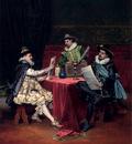 Lesrel Adolphe Alexandre The Collectors
