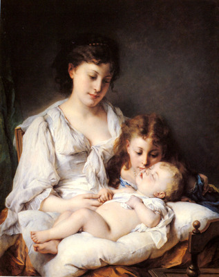 Jourdan Adolphe Maternal Affection