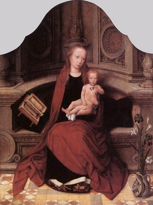 ISENBRANT Adriaen Virgin and Child Enthroned
