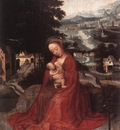 isenbrant adriaen rest during the flight to egypt