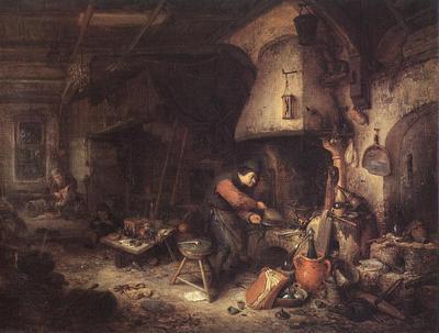 OSTADE Adriaen Jansz van Alchemist