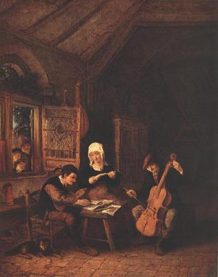 OSTADE Adriaen Jansz van Village Musicians