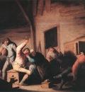 OSTADE Adriaen Jansz van Carousing Peasants In A Tavern
